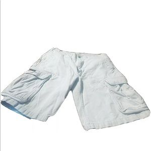 Ralph Lauren Polo Mens Khaki Cargo Shorts! 34x12